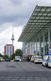 Ferrocarril de Berlin East Fotos de archivo libres de regalías