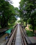 Ferrocarril de Birmania del japonés Fotos de archivo
