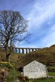 Ferrocarril de Carlisle del Settle de Dentdale del viaducto de Artengill fotografía de archivo