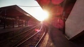 Ferrocarril de Colombo Fotos de archivo libres de regalías