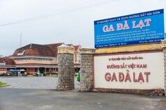 Ferrocarril de Dalat, Vietnam Fotos de archivo