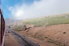 Ferrocarril de diente histórico y paisaje Imagen de archivo