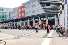 Ferrocarril de Eindhoven Imágenes de archivo libres de regalías
