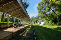Ferrocarril de Ella Fotografía de archivo libre de regalías