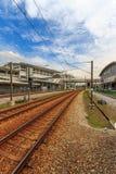 Ferrocarril de ERL en Malasia imagen de archivo libre de regalías