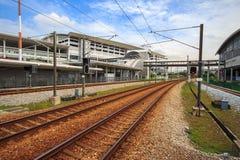 Ferrocarril de ERL en Malasia imágenes de archivo libres de regalías