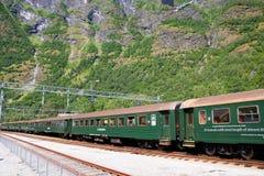 Ferrocarril de Flam, Noruega Fotos de archivo