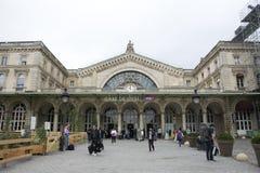 Ferrocarril de Gare de París-Est en París, Francia Imagenes de archivo