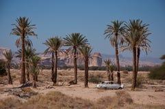 Ferrocarril de Hejaz cerca del al-Ula Imagenes de archivo