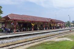 Ferrocarril de Hua Hin Imagen de archivo libre de regalías