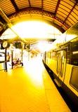Ferrocarril de Kopenhagen Fotos de archivo libres de regalías