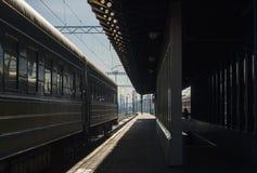 Ferrocarril de Kyiv Foto de archivo libre de regalías