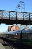 Ferrocarril de la campanilla en Sussex Foto de archivo libre de regalías