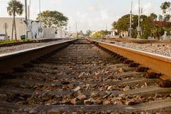 Ferrocarril de la ciudad Imagenes de archivo