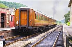 Ferrocarril de la costura de la herencia fotografía de archivo libre de regalías