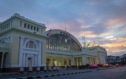 Ferrocarril de la mañana de TAILANDIA Fotos de archivo