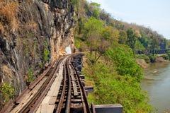 Ferrocarril de la muerte Foto de archivo libre de regalías