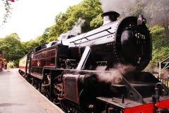 Ferrocarril de la orilla del lago imagen de archivo libre de regalías