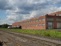 Ferrocarril de la tierra del norte de Ontario Fotografía de archivo