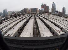 Ferrocarril de Long Island fotografía de archivo