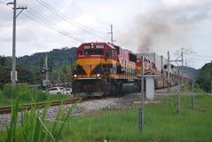 Ferrocarril de Panamá Fotografía de archivo libre de regalías