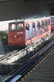 Ferrocarril de Pilatus, Suiza Foto de archivo