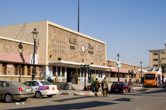 Ferrocarril de Qena, Egipto foto de archivo libre de regalías