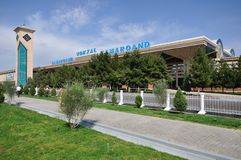 Ferrocarril de Samarkand Fotos de archivo