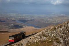 Ferrocarril de Snowdon Fotos de archivo libres de regalías