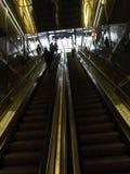 Ferrocarril de subterráneo Fotos de archivo libres de regalías