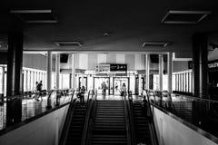 Ferrocarril de Szczecin Imagenes de archivo