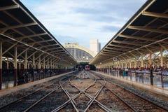 Ferrocarril de TAILANDIA Fotos de archivo libres de regalías