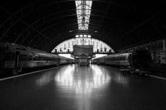 ferrocarril del ฺBangkok Imagenes de archivo