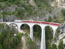 Ferrocarril del calibrador estrecho. foto de archivo