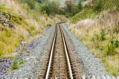 Ferrocarril del calibrador estrecho Imagen de archivo libre de regalías