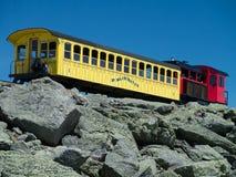 Ferrocarril del diente del Mt. Washington Imagenes de archivo