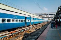 Ferrocarril del empalme de la ciudad de Bengaluru en Bangalore, la India imagenes de archivo