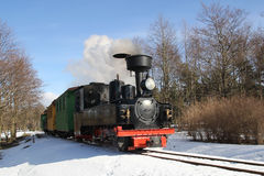 Poca locomotora de vapor imagen de archivo