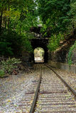 Ferrocarril del túnel Imagen de archivo libre de regalías