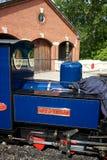 Ferrocarril del vapor de Exbury Imagen de archivo libre de regalías