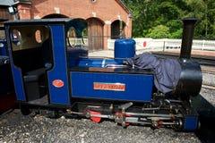 Ferrocarril del vapor de Exbury Fotos de archivo