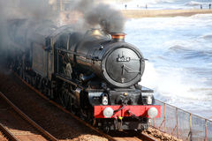 Ferrocarril del vapor de la vendimia Imagenes de archivo