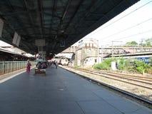 Ferrocarril en Bombay Imagenes de archivo