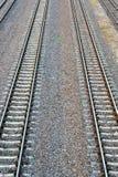Ferrocarril en el país Imágenes de archivo libres de regalías