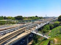 Ferrocarril en Japón Foto de archivo