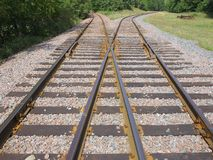 Ferrocarril en Minnesota Fotos de archivo libres de regalías