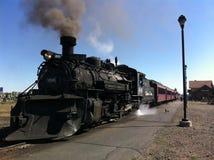 Ferrocarril escénico de Cumbres y de Toltec fotografía de archivo libre de regalías