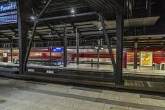 Ferrocarril för BerlÃn estació n Arkivfoton