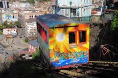 Ferrocarril funicular. Foto de archivo
