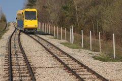 Ferrocarril funicular Imágenes de archivo libres de regalías